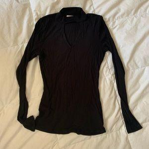 Hollister V-Neck Long Sleeve